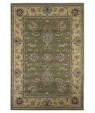 RugStudio presents Kas Cambridge 7343 Sage/Beige Machine Woven, Good Quality Area Rug
