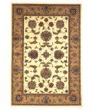 RugStudio presents Kas Cambridge 7344 Ivory/Beige Machine Woven, Good Quality Area Rug