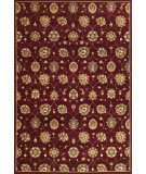 RugStudio presents Kas Cambridge 7350 Red Machine Woven, Good Quality Area Rug