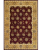 RugStudio presents Kas Cambridge 7346 Red/Beige Machine Woven, Good Quality Area Rug