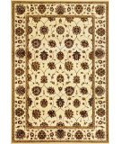 RugStudio presents Kas Cambridge 7347 Ivory Machine Woven, Good Quality Area Rug