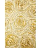 RugStudio presents Kas Catalina Roses & Romance 797 Canary Hand-Tufted, Good Quality Area Rug