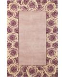 RugStudio presents Kas Catalina Rose Border 798 Lavendar-Blush Hand-Tufted, Good Quality Area Rug
