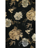 RugStudio presents Kas Catalina 0736 Black Hand-Tufted, Good Quality Area Rug