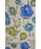 RugStudio presents KAS Catalina 752 Ivory Floral Oasis Hand-Tufted, Good Quality Area Rug