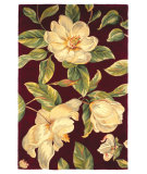 RugStudio presents Kas Catalina Magnolia 760 Ruby Hand-Tufted, Good Quality Area Rug