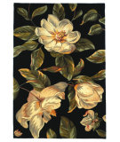 RugStudio presents Kas Catalina Magnolia 761 Black Hand-Tufted, Good Quality Area Rug