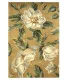 RugStudio presents Kas Catalina Magnolia 762 Gold Hand-Tufted, Good Quality Area Rug