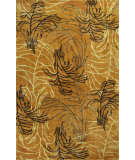 RugStudio presents Kas Chanteuse 4952 Gold Hand-Tufted, Good Quality Area Rug