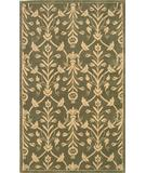 RugStudio presents KAS Chateau Chloe 3620 Sage-Ivory Hand-Tufted, Good Quality Area Rug