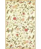 RugStudio presents Kas Colonial Spingtime Views Ivory 1783 Hand-Hooked Area Rug