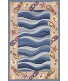RugStudio presents Kas Colonial Fun in the Sun Multi 1810 Hand-Hooked Area Rug