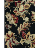 RugStudio presents Kas Colonial 1827 Black Hand-Hooked Area Rug