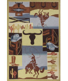 RugStudio presents Kas Colonial 1835 Southwest Hand-Hooked Area Rug