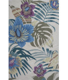 RugStudio presents KAS Coral 4155 Sand Palm Hand-Tufted, Good Quality Area Rug