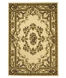 RugStudio presents KAS Corinthian Aubusson Ivory 5311 Machine Woven, Good Quality Area Rug