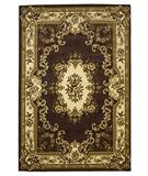 RugStudio presents KAS Corinthian Aubusson Plum-Ivory 5313 Machine Woven, Good Quality Area Rug