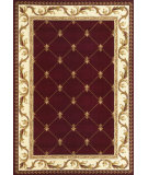 RugStudio presents Kas Corinthian 5319 Red Machine Woven, Good Quality Area Rug