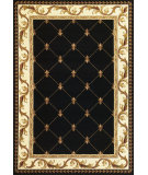 RugStudio presents Kas Corinthian 5321 Black Machine Woven, Good Quality Area Rug