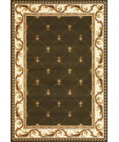 RugStudio presents Kas Corinthian 5323 Green Machine Woven, Good Quality Area Rug