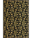 RugStudio presents Kas Corinthian 5334 Black Machine Woven, Good Quality Area Rug