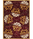 RugStudio presents Kas Corinthian 5346 Red Machine Woven, Good Quality Area Rug