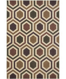 RugStudio presents KAS Corinthian 5355 Ivory/Plum Windows Machine Woven, Good Quality Area Rug