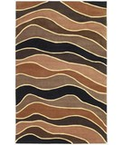 RugStudio presents KAS Cosmopolitan Horizons 1502 Earthtones Hand-Tufted, Good Quality Area Rug