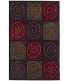 RugStudio presents KAS Cosmopolitan Mosaics 1505 Jeweltone Hand-Tufted, Good Quality Area Rug
