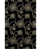 RugStudio presents Kas Emerald Flora Black 9036 Hand-Tufted, Best Quality Area Rug