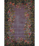 RugStudio presents Kas Emerald Garden 9006 Lavender Hand-Tufted, Best Quality Area Rug