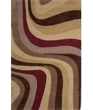 RugStudio presents Kas Eternity Nature's Elements 1088 Mocha Multi Hand-Tufted, Good Quality Area Rug