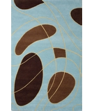 RugStudio presents Rugstudio Famous Maker 39261 Mocha Hand-Tufted, Good Quality Area Rug