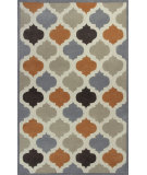 RugStudio presents Kas Eternity 1068 Ivory / Spice Hand-Tufted, Good Quality Area Rug