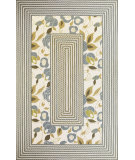 RugStudio presents Kas Fairfax 5509 Ivory Hand-Hooked Area Rug
