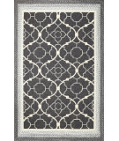 RugStudio presents Kas Fairfax 5515 Black Hand-Hooked Area Rug