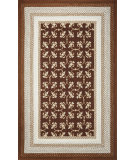 RugStudio presents Kas Fairfax 5518 Mocha Hand-Hooked Area Rug
