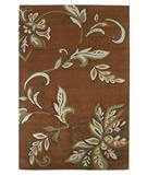 RugStudio presents KAS Florence Firenze Spice 4550 Hand-Tufted, Better Quality Area Rug
