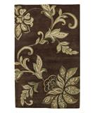 RugStudio presents KAS Florence Firenze Mocha 4552 Hand-Tufted, Better Quality Area Rug