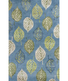 RugStudio presents KAS Florence 4584 Ocean Blue Waves Hand-Tufted, Good Quality Area Rug