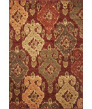 RugStudio presents Kas Geneva 9409 Burgundy Machine Woven, Good Quality Area Rug