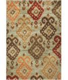 RugStudio presents Rugstudio Sample Sale 69274R Blue Machine Woven, Good Quality Area Rug