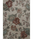 RugStudio presents KAS Geneva 9422 Ivory Florea Machine Woven, Good Quality Area Rug