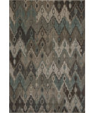 RugStudio presents KAS Geneva 9425 Beige Ikat Horizon Machine Woven, Good Quality Area Rug