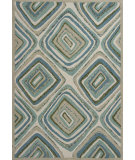 RugStudio presents KAS Geo 4609 Ocean Layers Hand-Tufted, Good Quality Area Rug