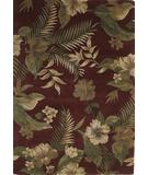 RugStudio presents KAS Havana Hibiscus Ruby 2611 Hand-Tufted, Good Quality Area Rug