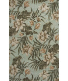 RugStudio presents KAS Havana 2628 Seafoam Serenity Hand-Tufted, Good Quality Area Rug