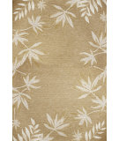 RugStudio presents Kas Horizon 5706 Sage Fern Border Machine Woven, Good Quality Area Rug