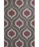 RugStudio presents KAS Horizon 5727 Mocha Groove Machine Woven, Good Quality Area Rug