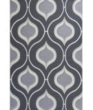 RugStudio presents KAS Horizon 5728 Slate Groove Machine Woven, Good Quality Area Rug